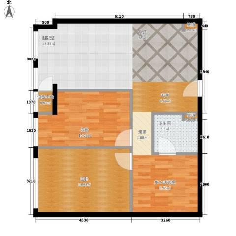 云鼎2室0厅1卫0厨103.00㎡户型图