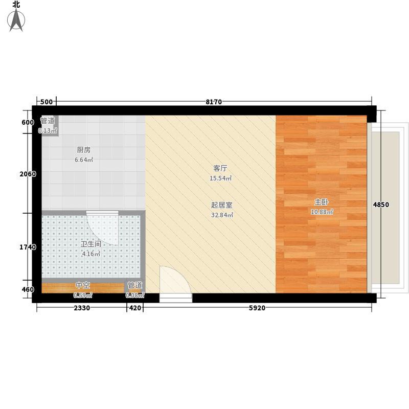 中信德方斯42.00㎡中信德方斯户型10室