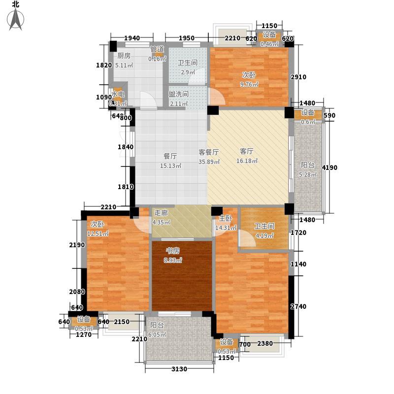 世欧彼岸城世欧彼岸城户型图J户型4室2厅2卫1厨户型4室2厅2卫1厨