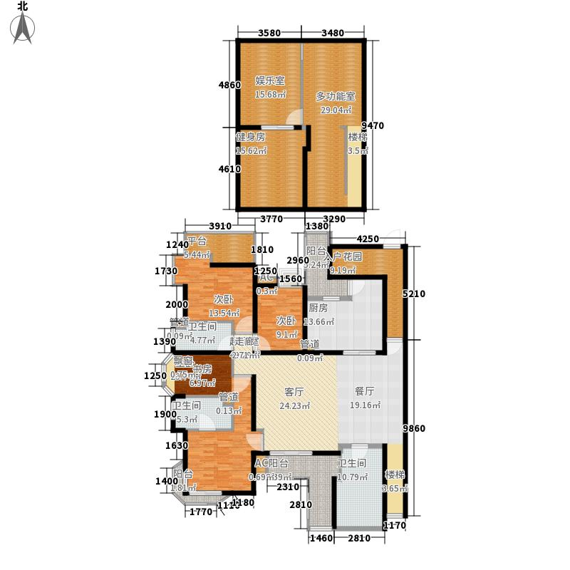 上尚缘172.00㎡A1户型3室2厅2卫