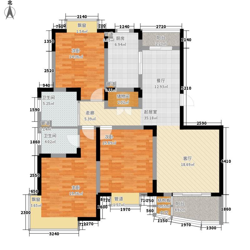 枫桥紫郡二期128.00㎡枫桥紫郡二期户型图户型图3室2厅2卫1厨户型3室2厅2卫1厨