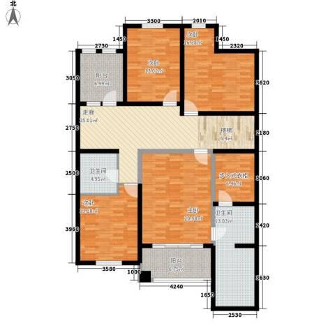 龙湖·花盛香醍4室0厅2卫0厨182.00㎡户型图