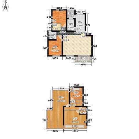 碧海红湖4室1厅2卫1厨192.00㎡户型图