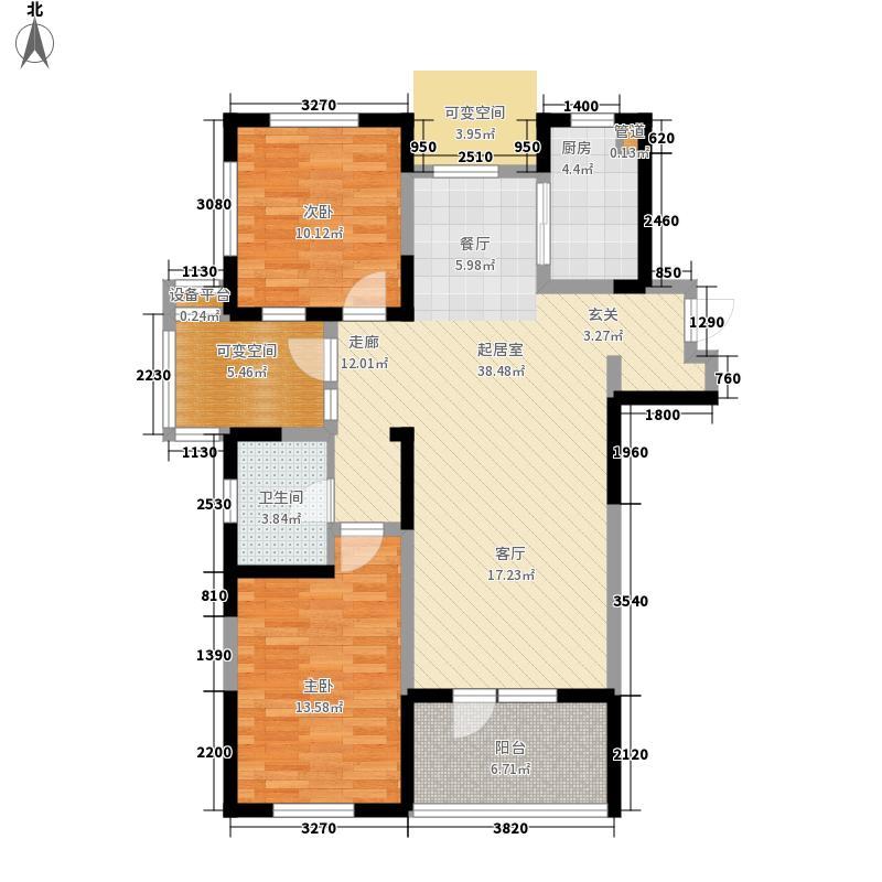 万科金色家园105.00㎡金色家园10面积10500m户型