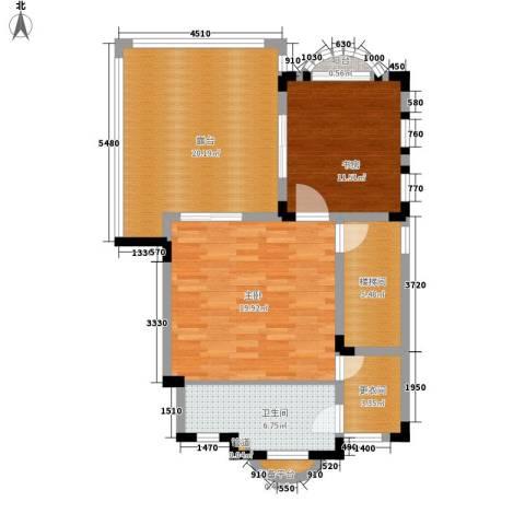 蓝光十里蓝山2室0厅1卫0厨152.00㎡户型图