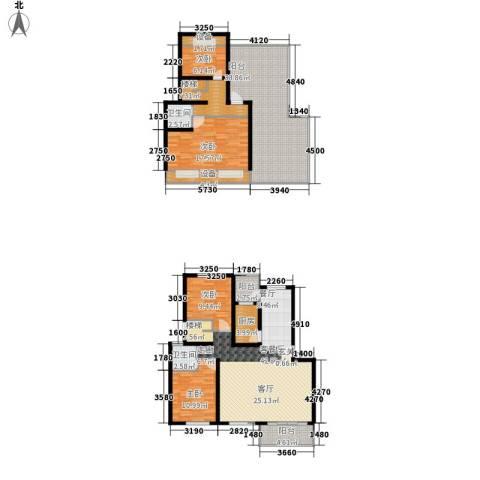 碧海红湖4室1厅2卫1厨165.00㎡户型图