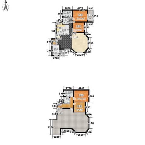 碧海红湖4室1厅4卫1厨192.00㎡户型图