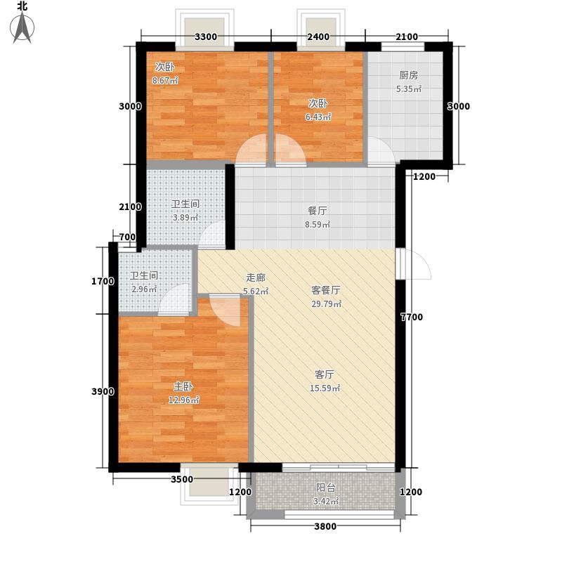 吉祥阁吉祥阁户型图3223室2厅2卫1厨户型3室2厅2卫1厨