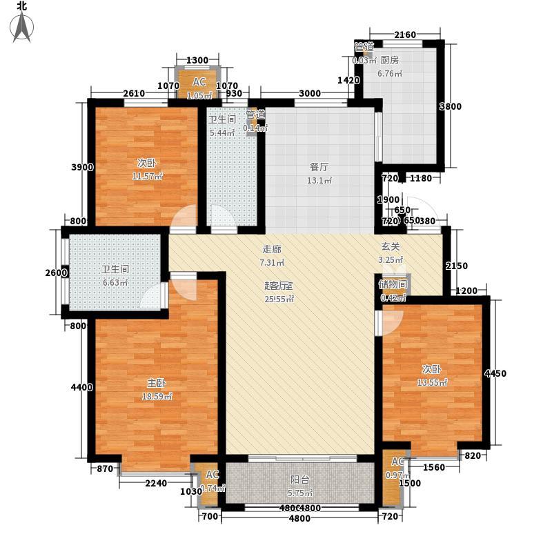 城投熙和园洋房7、10、12、13、15号楼标准层H户型