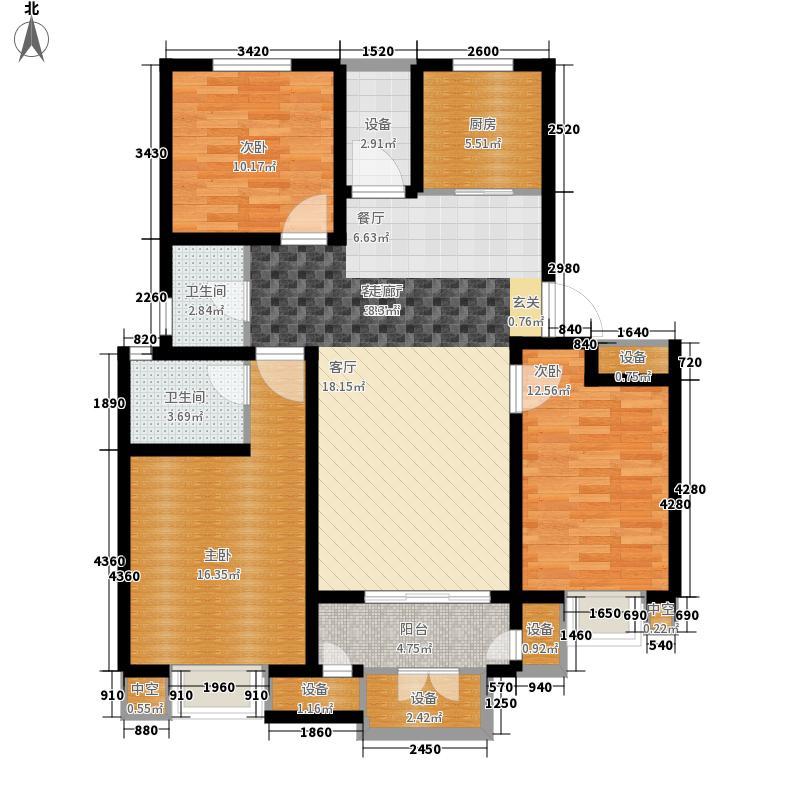 华府御墅洋房10、14、29号楼1层D2-1户型