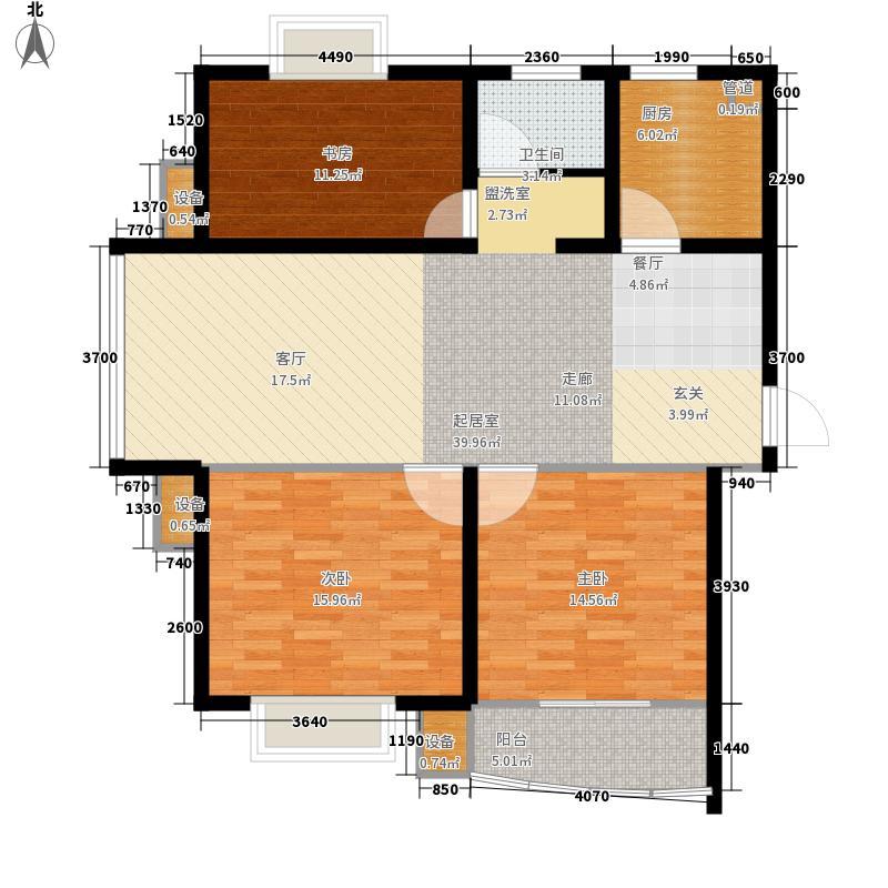 龙城花园110.14㎡龙城花园户型图5#楼甲013室2厅1卫1厨户型3室2厅1卫1厨