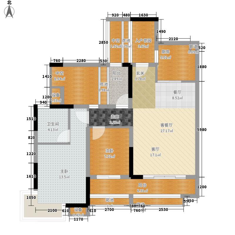 君汇上品71.00㎡君汇上品户型图7栋04户型2室2厅2卫1厨户型2室2厅2卫1厨