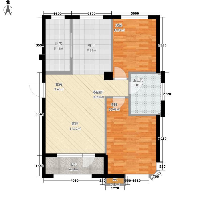 HIGH空间HIGH空间2室户型2室