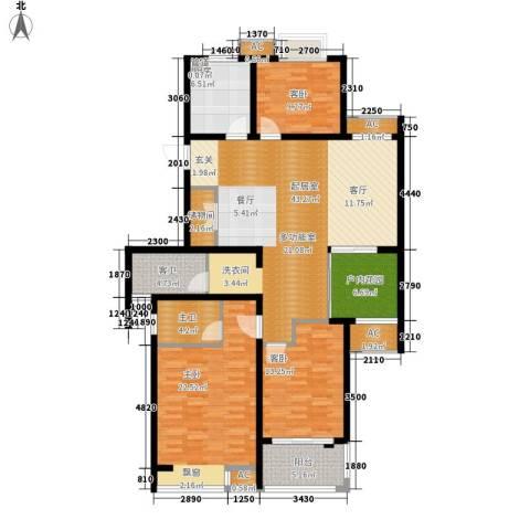 栖霞瑜憬湾3室0厅0卫1厨135.00㎡户型图