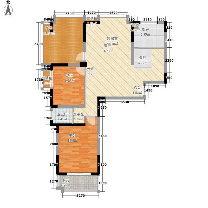 公园道1号108.04㎡公园道1号户型图3、4#楼A2户型2室2厅1卫1厨户型2室2厅1卫1厨