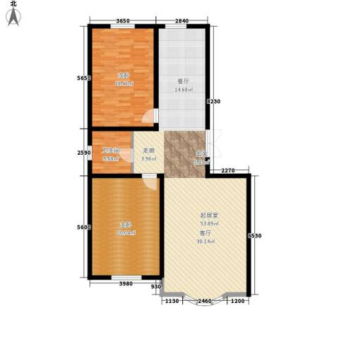 安华美域2室0厅1卫0厨107.80㎡户型图