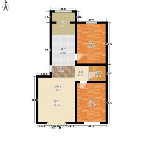 安华美域2室0厅1卫0厨94.86㎡户型图