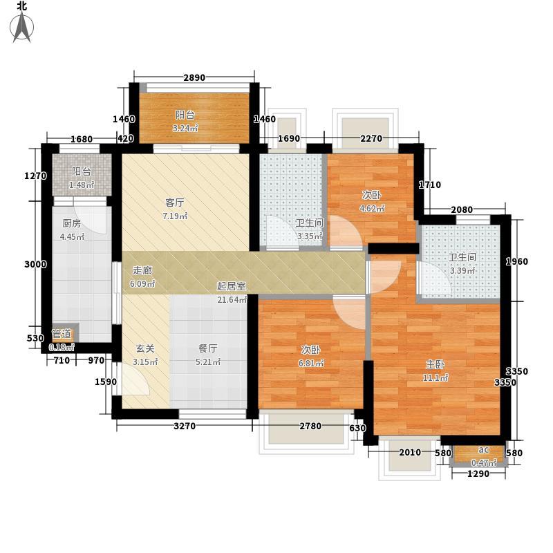 金名都金名都22-24栋7户型10室