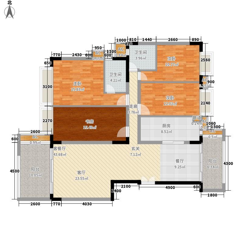 合正锦园二期合正锦园二期户型图户型图4室2厅2卫1厨户型4室2厅2卫1厨