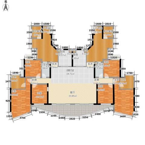 历德雅舍二期6室0厅2卫2厨276.00㎡户型图