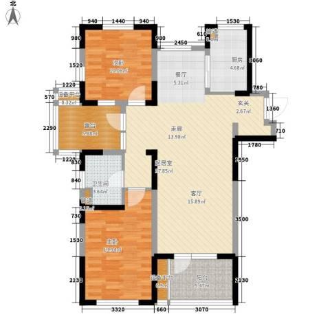 中通二局家属院2室0厅1卫1厨120.00㎡户型图