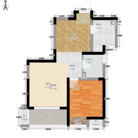 雍景台1室0厅1卫1厨144.00㎡户型图