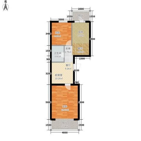 丰乐小区2室0厅1卫0厨71.02㎡户型图