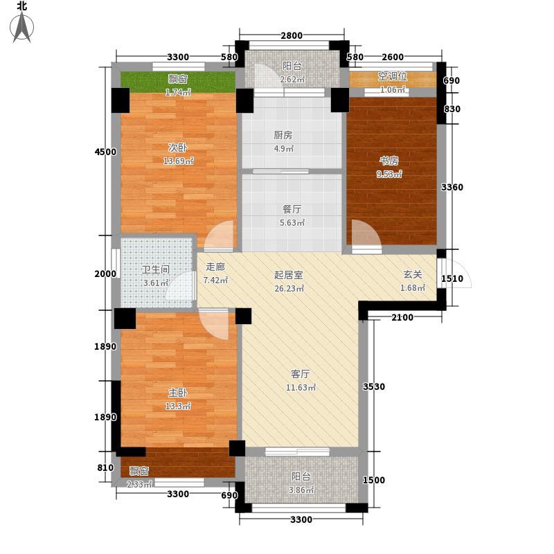 嘉禾・西班牙二期98.00㎡嘉禾・西班牙二期17#-03户型图E13室2厅1卫1厨98.00㎡户型3室2厅1卫1厨
