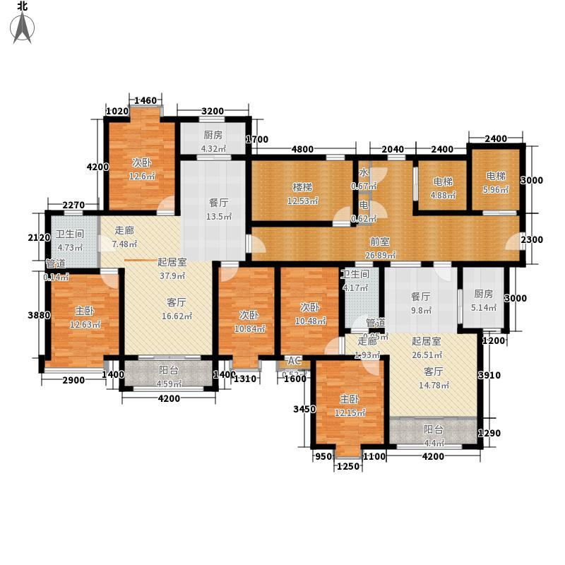 派胜金溪里3.80㎡A户型2室2厅1卫