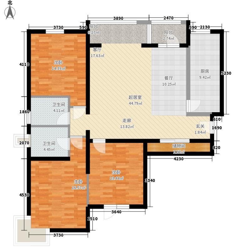 乐成国际1号楼首层K户型2室2厅2卫1厨