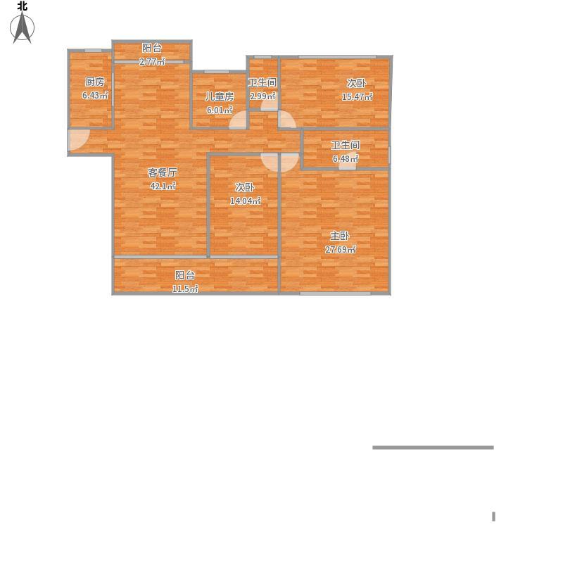3房2厅l卫