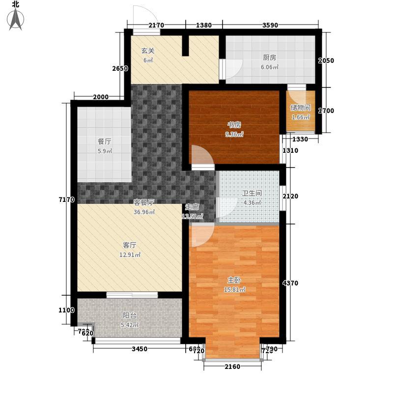 古运码头二期89.41㎡古运码头二期户型图C户型2室2厅1卫1厨户型2室2厅1卫1厨
