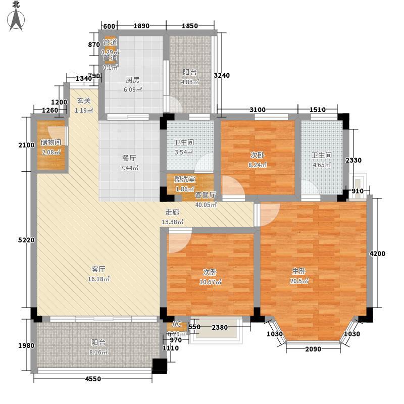金泽豪庭126.00㎡金泽豪庭户型图4室2厅户型图4室2厅2卫1厨户型4室2厅2卫1厨