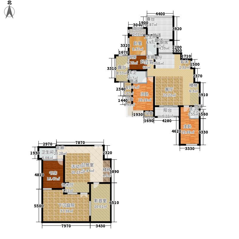 富立・秦皇半岛168.27㎡富立・秦皇半岛户型图A1-1户型4室2厅3卫户型4室2厅3卫