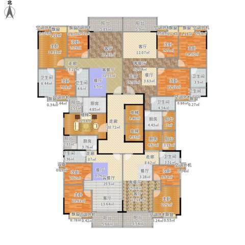 芳邻美地9室4厅7卫4厨461.00㎡户型图