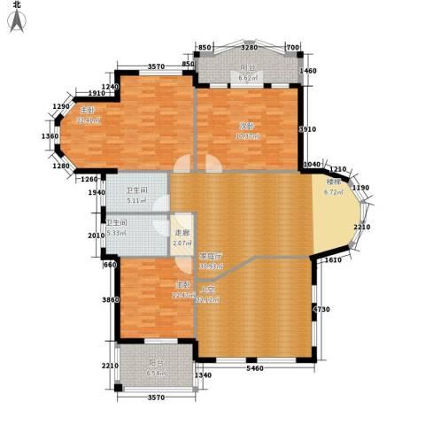 碧海花园3室0厅2卫0厨180.00㎡户型图