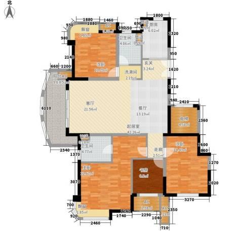 水岸帝景4室0厅2卫1厨149.00㎡户型图