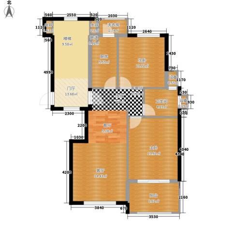 威尼斯水城别墅2室1厅1卫1厨119.00㎡户型图