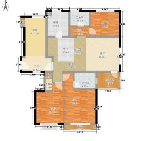 威尼斯水城别墅3室0厅2卫1厨169.00㎡户型图
