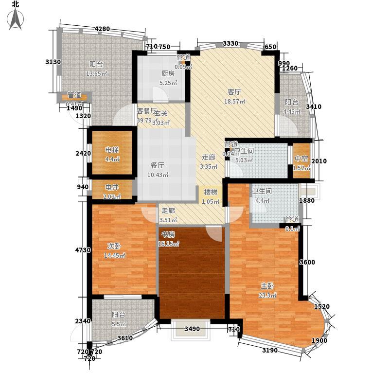 健康一村160.00㎡健康一村户型图3室2厅2卫户型10室