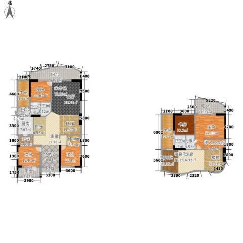 海棠晓月・怡景天域(二期)5室0厅3卫1厨271.01㎡户型图
