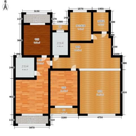 建业桂园3室0厅2卫0厨254.00㎡户型图