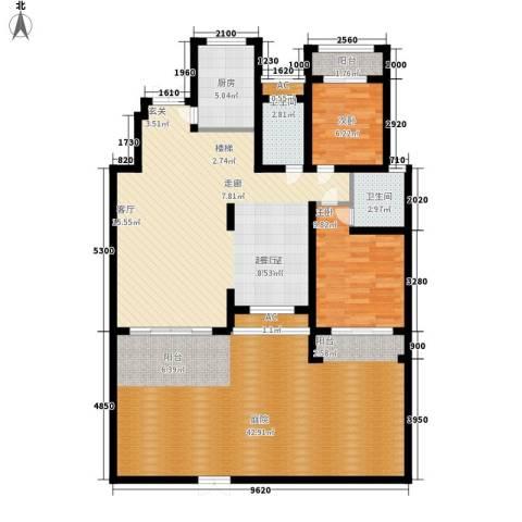建业桂园2室0厅2卫1厨251.00㎡户型图