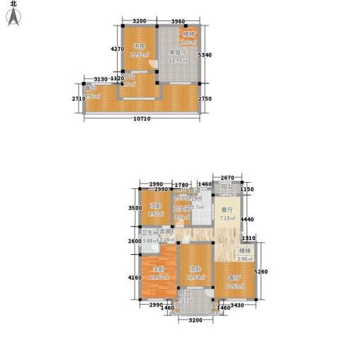 顺城名湾4室0厅2卫1厨177.00㎡户型图