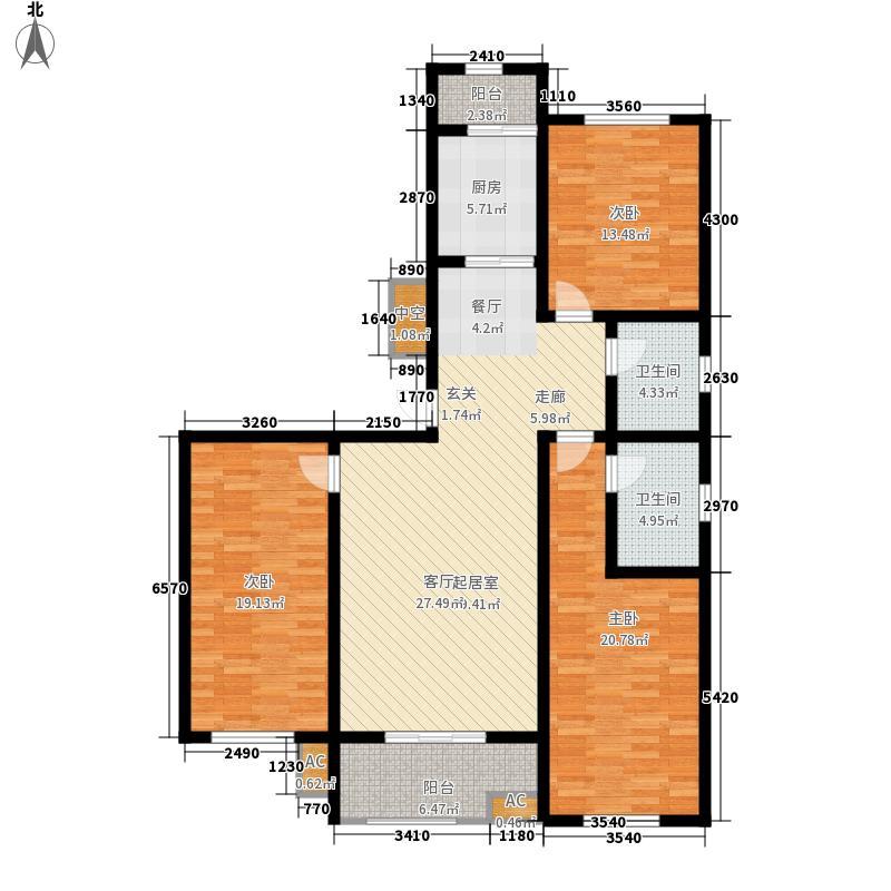 阳光尚城136.00㎡1#2#G2面积13600m户型