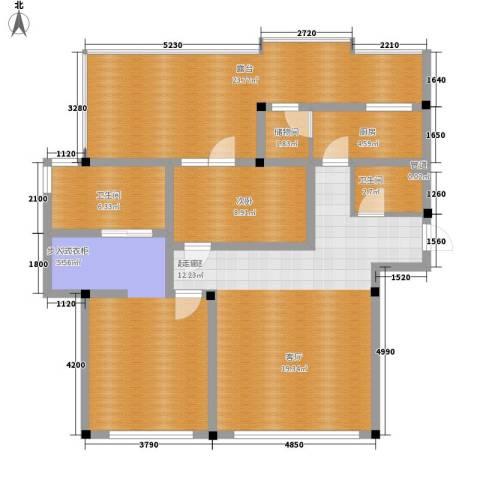 吉粮康郡2室0厅2卫1厨99.30㎡户型图