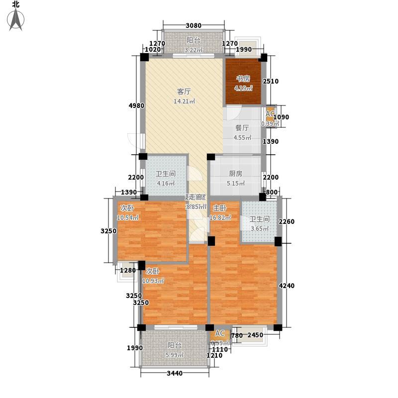 汇诚井源居汇诚井源居户型图3室2厅2卫1厨户型10室