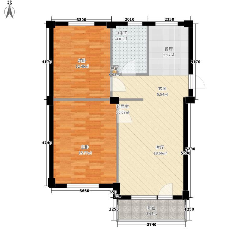 顺达温泉花园三期74.38㎡顺达温泉花园3期户型10室