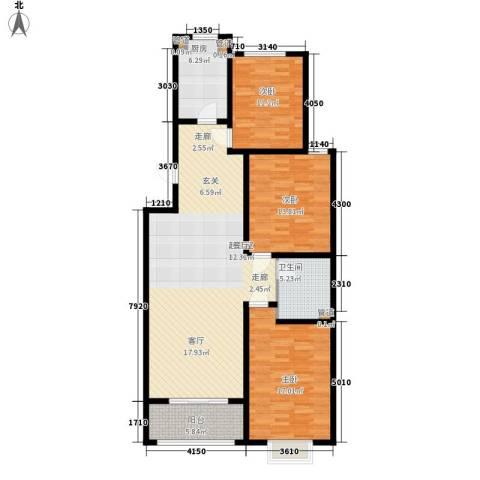 80903室0厅1卫1厨142.00㎡户型图