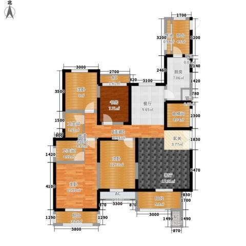 振业泊墅4室0厅2卫1厨144.00㎡户型图